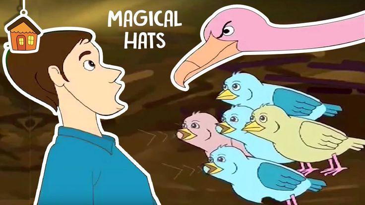Magical Hats | Telugu Moral Stories | Short Stories For Children | Bommarillu https://www.youtube.com/watch?v=rU9E1zGpszE