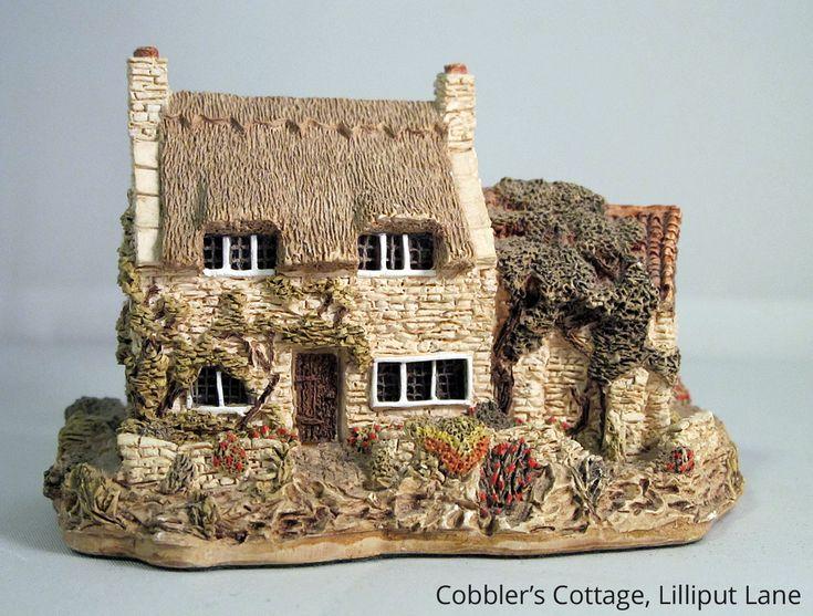 44 Miniature Painted Houses $130