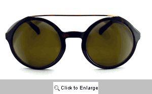 Julian Round Aviator Sunglasses - 549 Tortoise