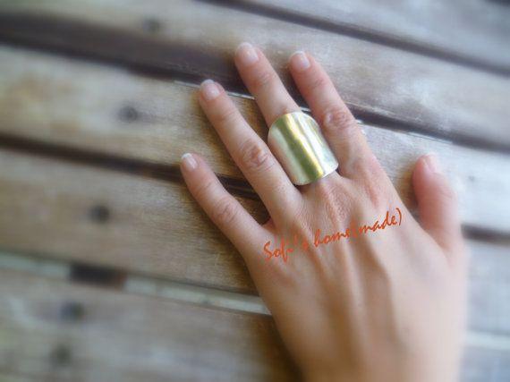 Alpaca- arzanto metal ring