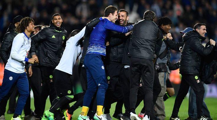 """Premier Lig 'de Chelsea şampiyonluğunu ilan etti  """"Premier Lig 'de Chelsea şampiyonluğunu ilan etti"""" http://fmedya.com/premier-lig-de-chelsea-sampiyonlugunu-ilan-etti-h26473.html"""