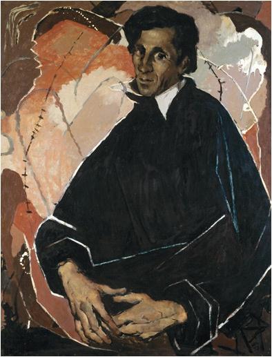 Clifton Pugh ~ Portrait of Tom Sanders, 1957