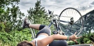 İlginç Bisiklet Kazaları