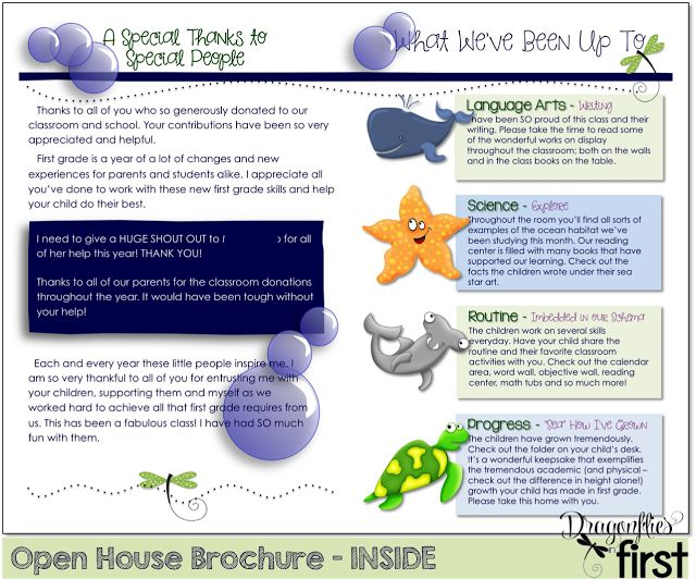 "Open House - A Growth Showcase! Open House ""brochure"""