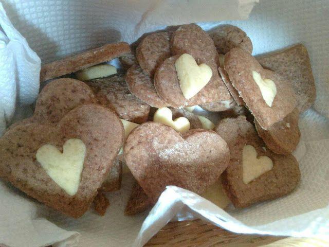 Pauu Latorre: Receta: Galletias de cacao y vainilla #SanValentin...