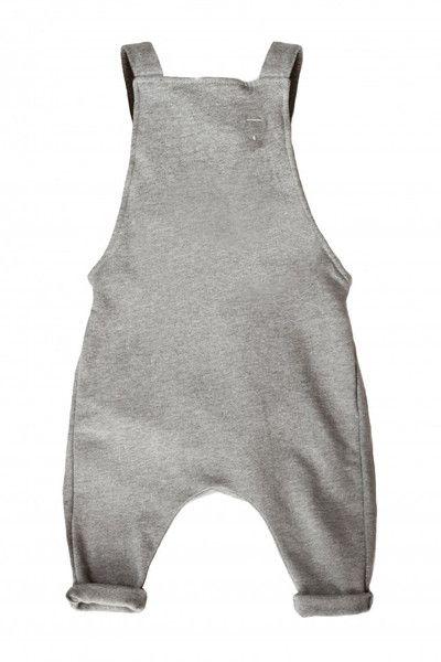 Gray Label Salopette Jumpsuit - Grey Melange