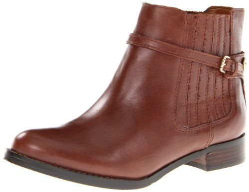Ivanka Trump Women's Tilly Bootie 100% Leather Manmade sole Shaft measures  approximately 5