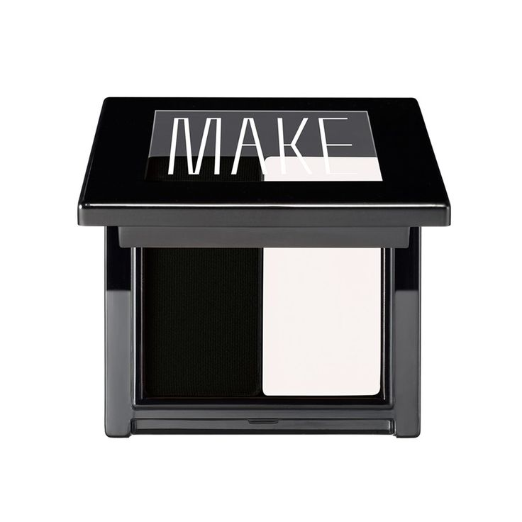 "MAKE Super Matte Cake Eyeliner Duo - Salt/Coal, <span class=""price"">$25.00</span> #birchbox"