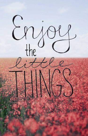 Enjoy the little things via http://nativeeeatheart.tumblr.com