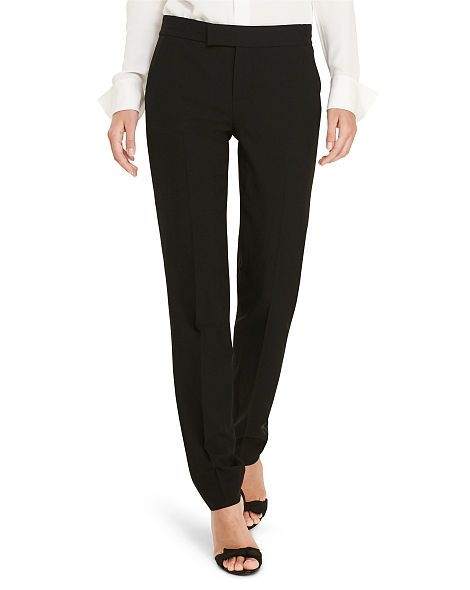 Polo Ralph Lauren Pantaloni da smoking in lana - Polo Ralph Lauren Gamba ampia - Ralph Lauren France