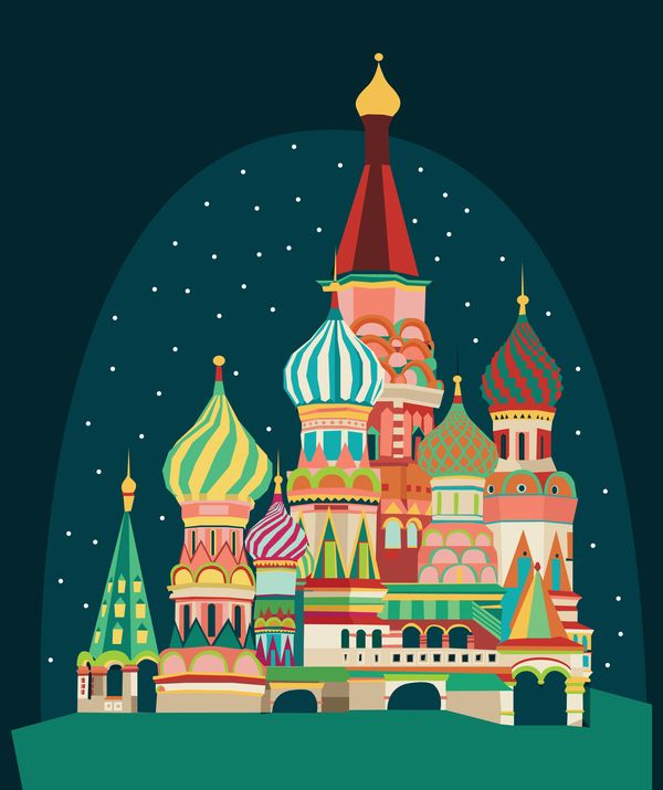 Rusia by Verónica De Fazio, via Behance