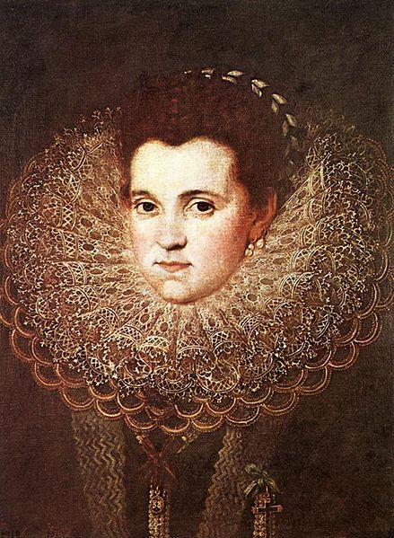 Unknown lady, 1550-1600, by Juan Pantoja de la Cruz