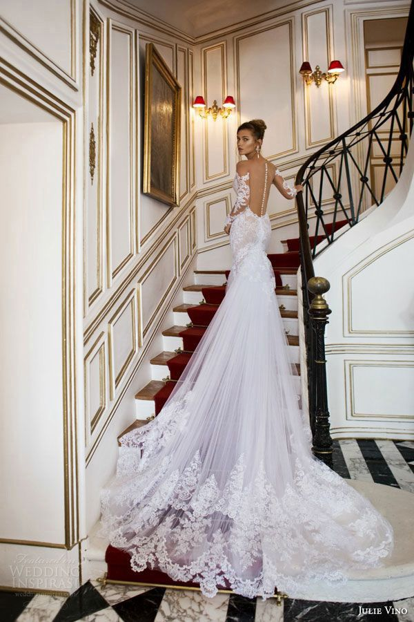Top Wedding Dress Trends for 2015 - Part 1  LOVE the train