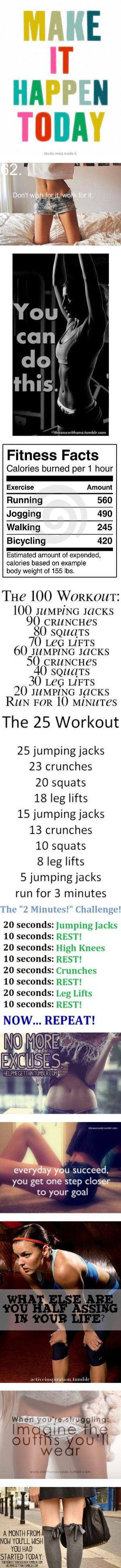 THE workout pin...