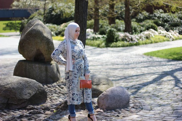 H&M Dress. Hijab style. Modest clothing.