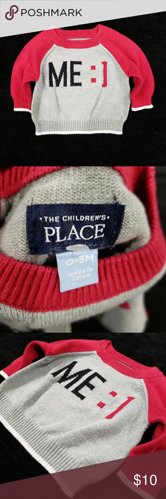 O/3M Boys Baby Children's Place Sweater ☆Excellent