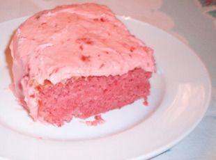 Strawberry Cake- yum!