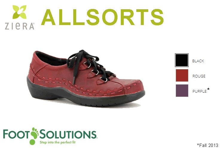 Allsorts casual walking shoe. Widths available. - Now Available in Purple!