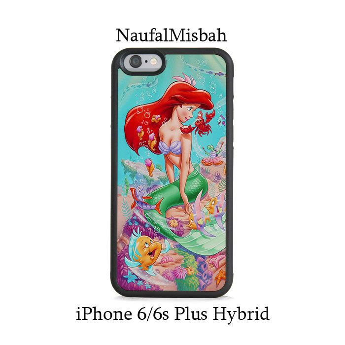 Ariel The Little Mermaid iPhone 6/6s PLUS HYBRID Case