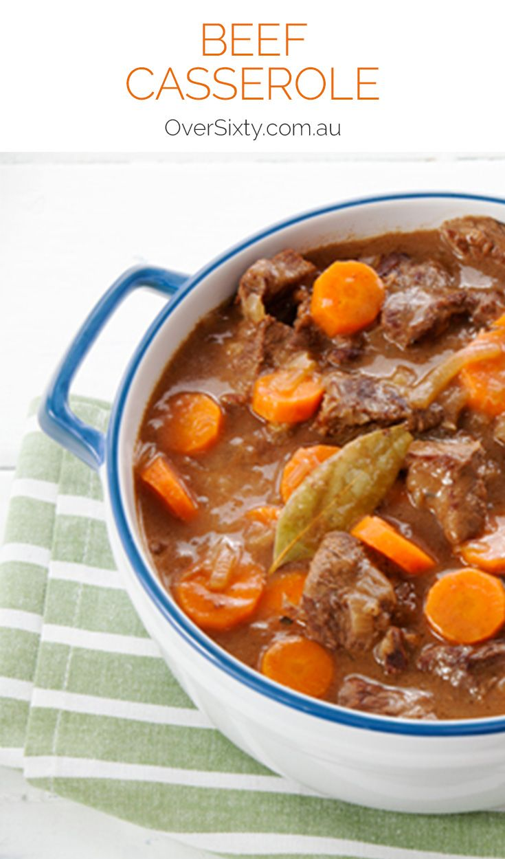 Beef Casserole - this classic beef casserole recipe includes loads of hearty meat and vegetables for a warming, soulful dinner. Great in winter.