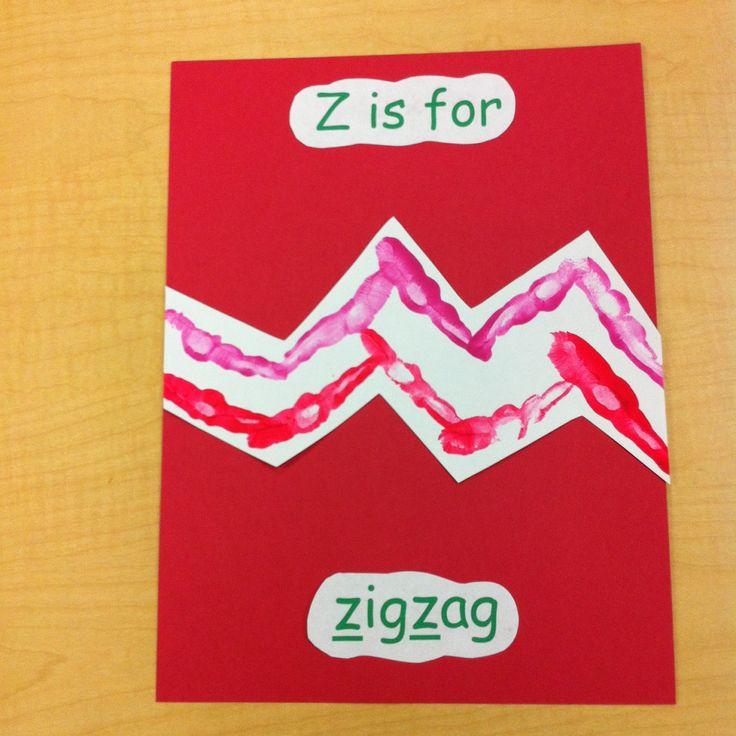 Hand Print Art: Z is for Zebra | CrystalandComp.com