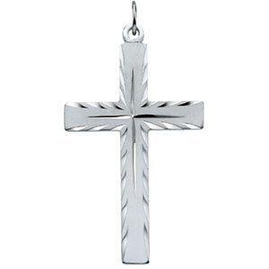 Sterling Silver Cross Pendant Religious. $59.99