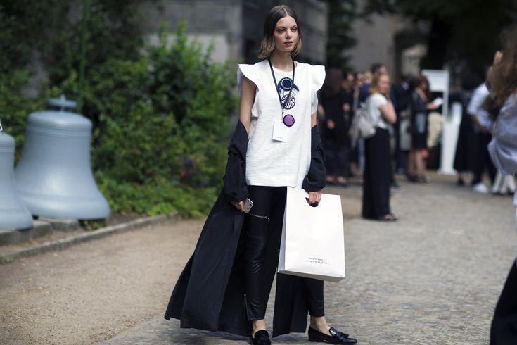 German Street Style Takes Over at Berlin Fashion Week Photos   W Magazine