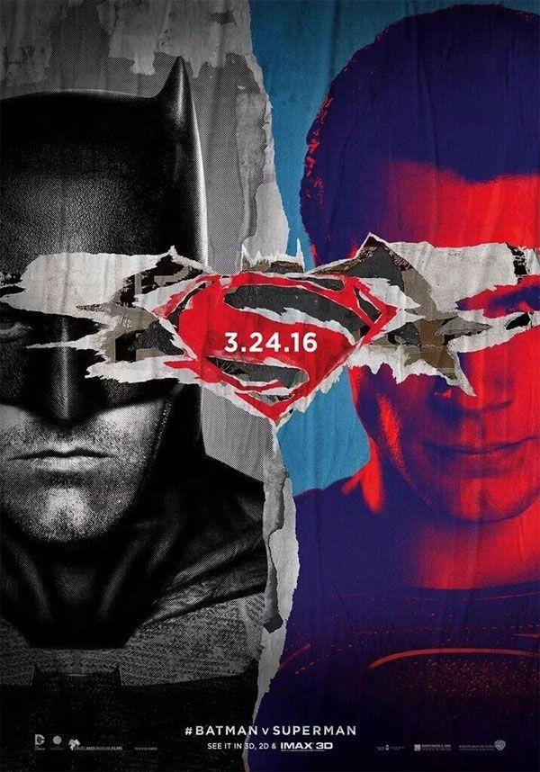 'Batman vsSuperman' teve um novo cartaz divulgado, que reúne os dois heróis.A estreia nos cinemas nacionais acontece dia 24 de Março de 2016. 'Batman vs Superman' não vem para corrigir críticas a 'O Homem de Aço', diz Henry Cavill Confira:  'Batman vs Superman': 60 fotos do TRAILER para você não perder nenhum DETALHE Em Batman vs Superman: A Origem da Justiça, os dois super-heróis vão aparecer juntos na telona, sendo o Homem de Aço interpretado novamente porHenry Cavill, e o Batman…