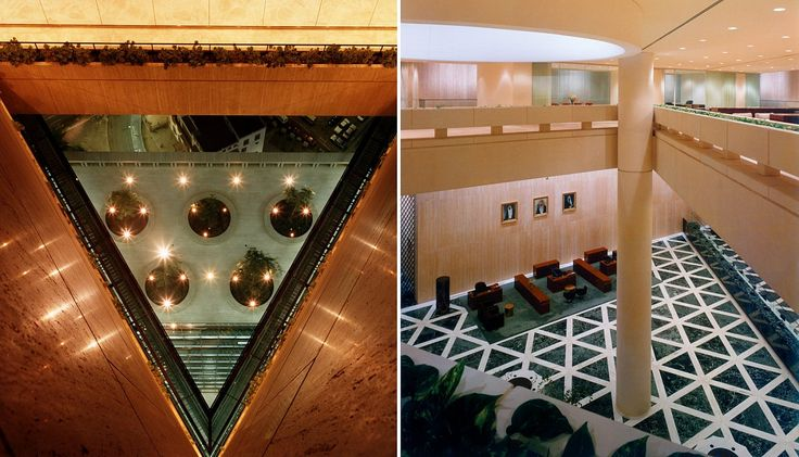 1988 laureate / Gordon Bunshaft / National Commercial Bank, Jiddah SAU - interior