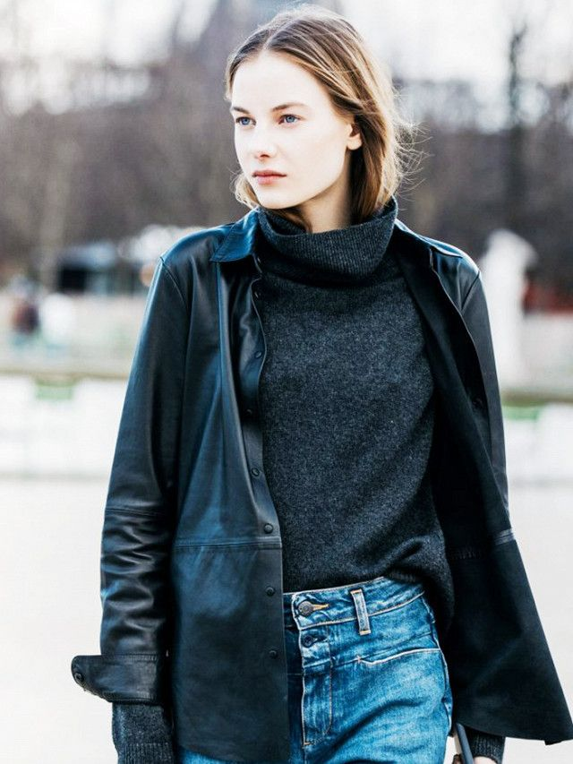 Microtrends for micro budgets: Like us, you've probably always stuck to this tried and tested formula: your jumper goes over your shirt. But how about if you reverse it? Hello, chic new look.