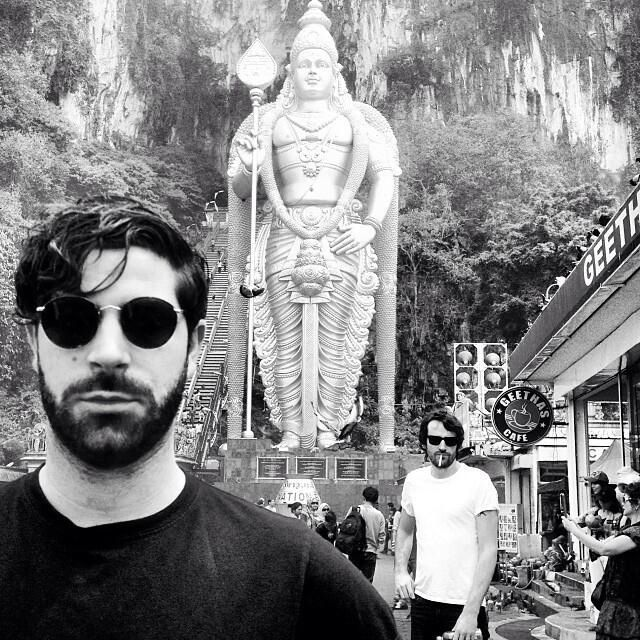 Foals visiting Heaven's Gate, China