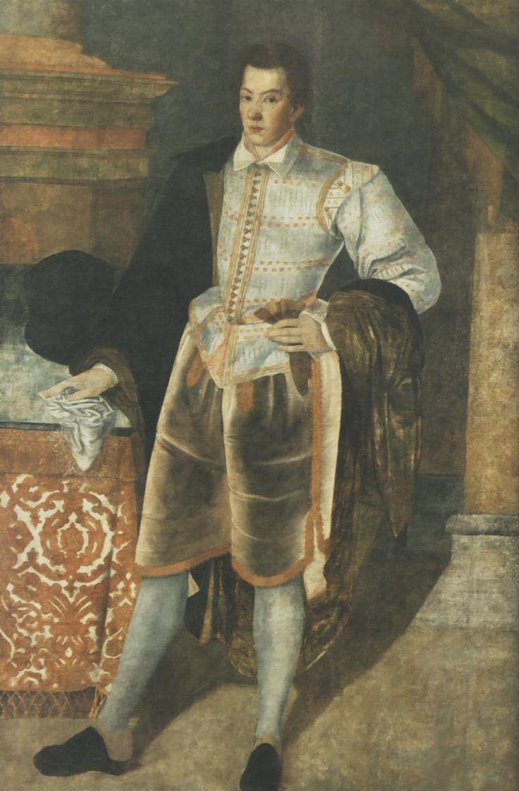 Portrait of Sebastian Lubomirski (unknown painter)