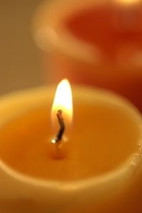 Jewish bereavement and stages of mourning candle