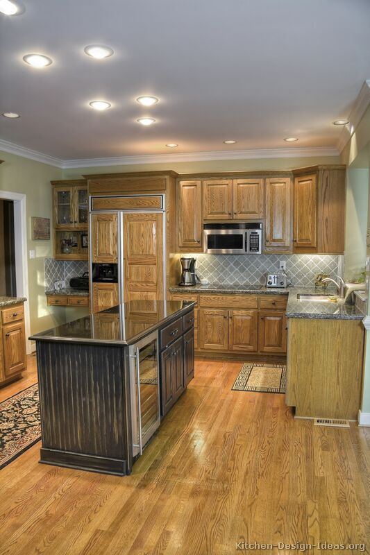 14 Best Two Tone Kitchens With Dark Cabinets Images On