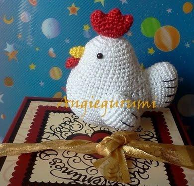Amigurumi Crochet Diagram : 17 Best images about crochet chicken on Pinterest Free ...
