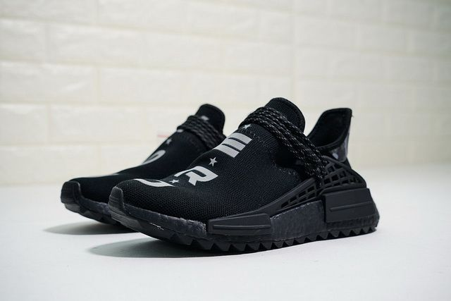 12ce9c87b3b 2018 High Quality ADIDAS ADIDAS PW HUMAN RACE NMD TR NERD BB7603 cblack  black Hot Sale