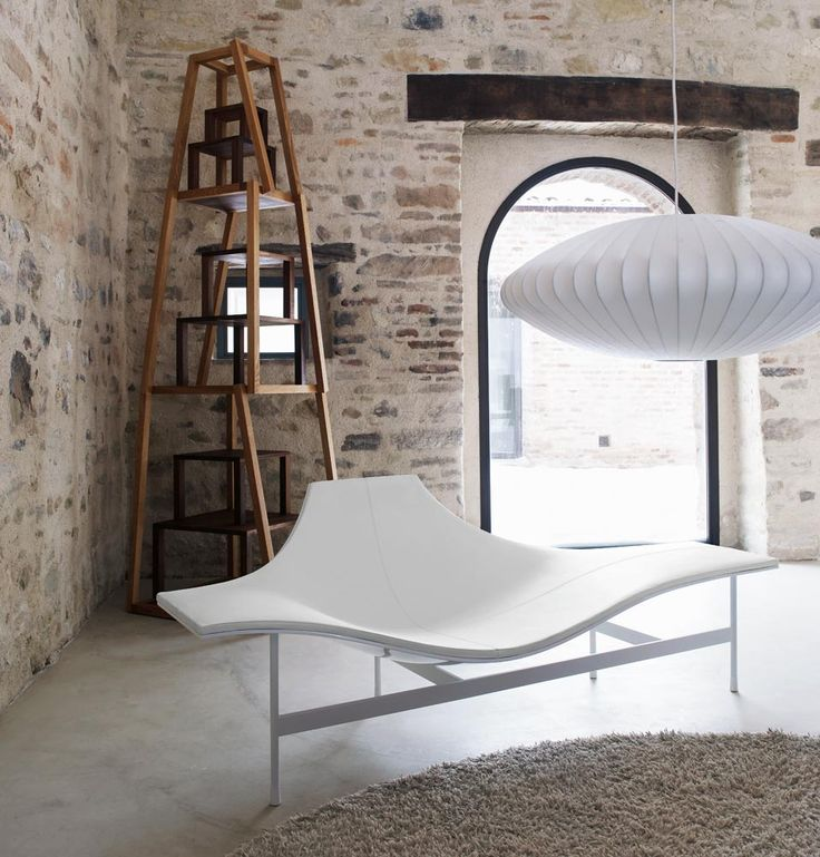 'Terminal 1' chaise lounge @bebitalia #modernfurniture #moderninteriors