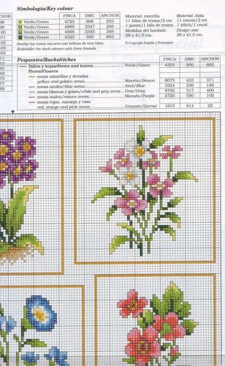 Flower Sampler 3/5 • Chart