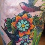 Tattoo by Leanne Thief | Black Rabbit Tattoo Studio
