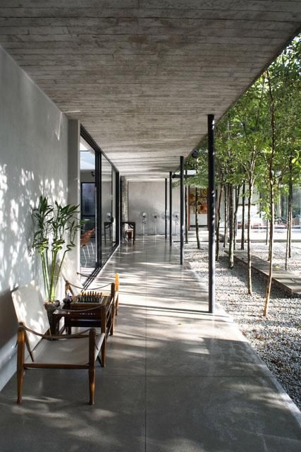 Forest grove verandah viewed from the south | Archnet