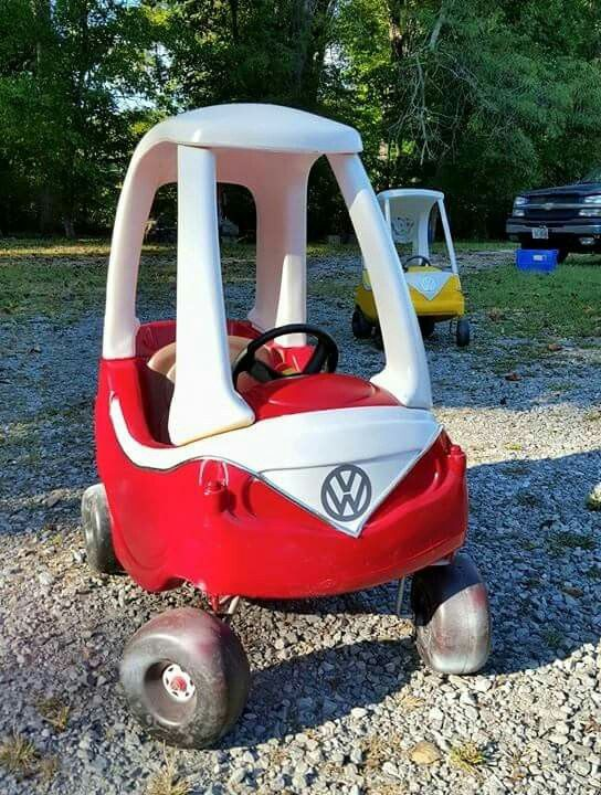 VW Cozy Coupe Bus Pimp my cozy coupe refurbished