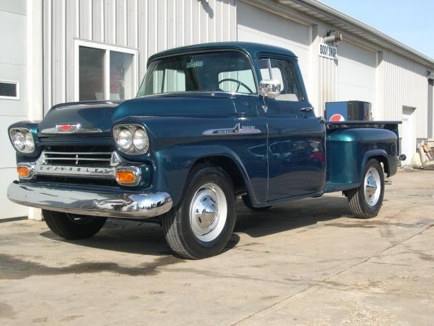 1958 Chevy Apache Restoration