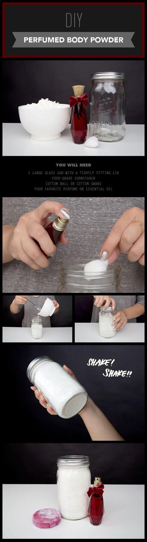 DIY Perfumed Body Powder