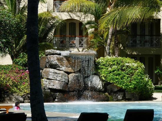 Le Canonnier hotel, Mauritius : Cascade jardins
