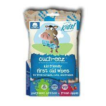 Natural Essentials Ouch-eez, 32-Count by Natural Essentials. Save 47 Off!. $4.99. Ouch-eez kid friendly first aid wipes are a petroleum free alternative to wound care.