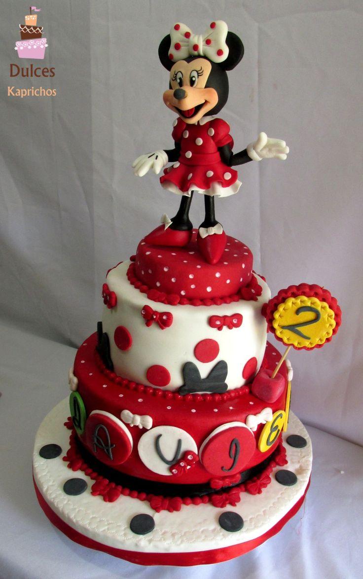 Torta de Minnie #TortaMinnie #TortasDecoradas #DulcesKaprichos