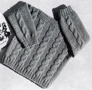 Speed Knit Pullover Pattern