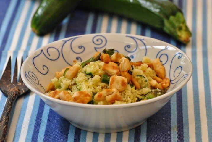 Sorelle in pentola: Couscous con pollo, limone, zucchine e zenzero