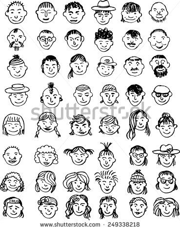 17 best images about grading on pinterest smiley faces for Doodle art faces