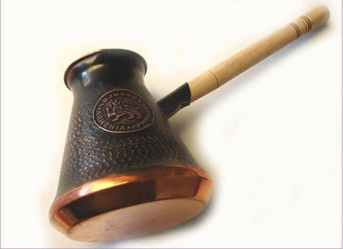 CEZVE Turkish Armenian COFFEE POT MAKER CEZVE IBRIK Jezve Turka Copper 500 ml
